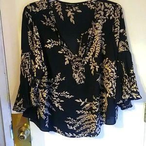 Women's v-neck blouse
